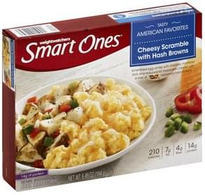 Smart Ones Cheesy Scramble with Hash Browns