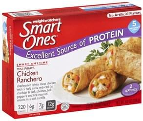 Smart Ones Chicken Ranchero Mini Wraps