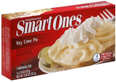 Smart Ones Key Lime Pies - 2 ea