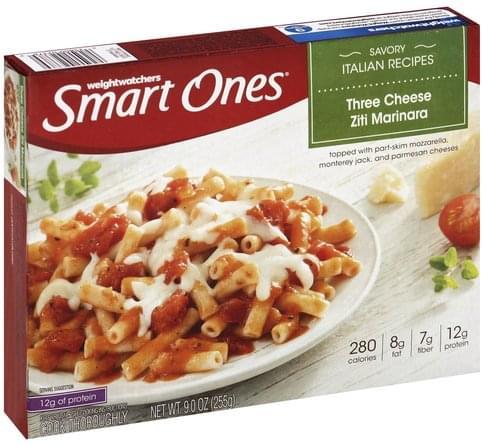 Smart Ones Three Cheese Ziti Marinara - 9 oz