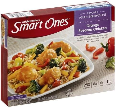 Smart Ones Orange Sesame Chicken - 9 oz