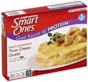 Smart Ones Three Cheese Omelet