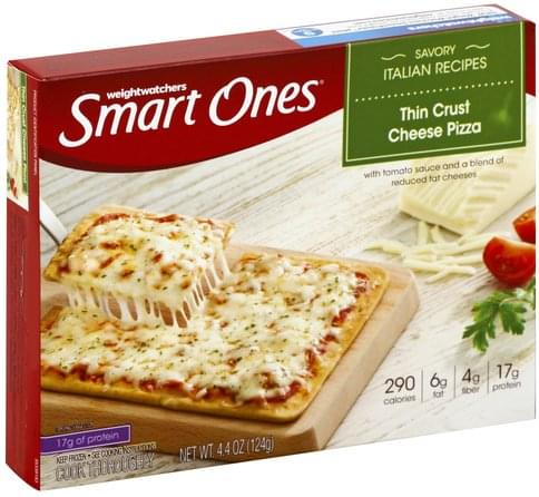 Smart Ones Thin Crust, Cheese Pizza - 4.4 oz
