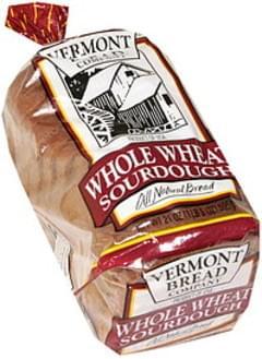 Vermont All Natural Bread Whole Wheat Sourdough