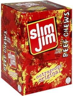 Slim Jim Beef Jerky Outrageous Original