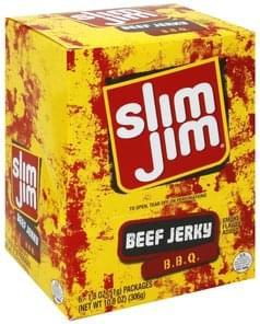 Slim Jim Beef Jerky BBQ