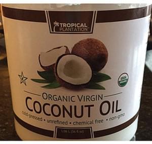 Tropical Plantation Organic Virgin Coconut Oil