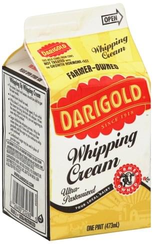 Darigold Whipping Cream - 1 pt