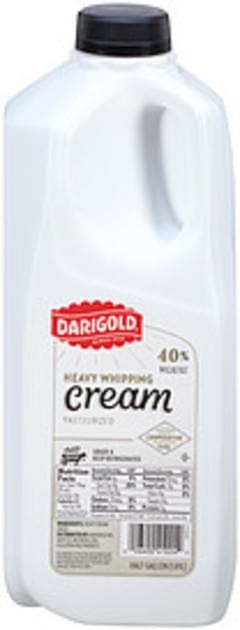 Darigold Whipping Cream Heavy 40% Milkfat