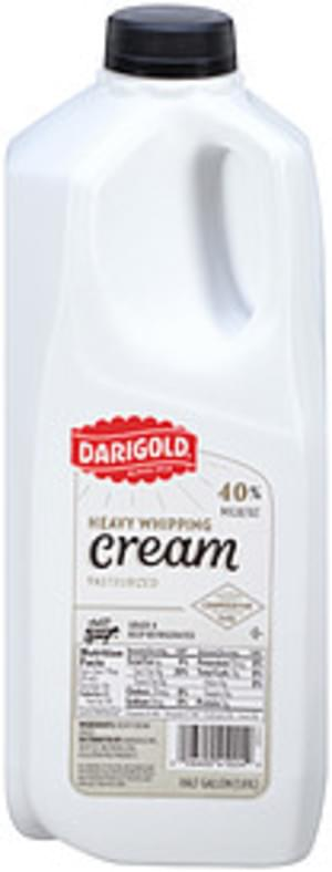 Darigold Heavy 40% Milkfat Whipping Cream - 64 oz