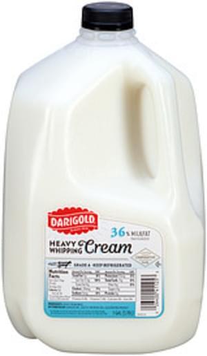 Darigold Heavy 36% Whipping Cream - 1 Gal