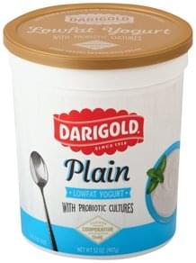 Darigold Yogurt Lowfat, with Probiotic Cultures, Plain