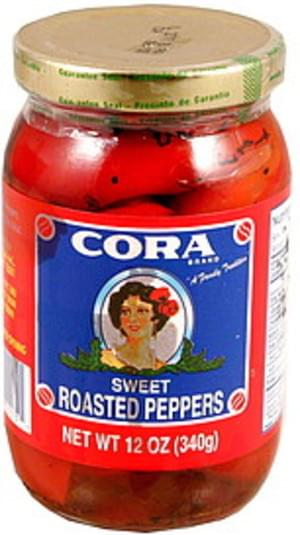 Cora Sweet Roasted Peppers - 12 oz