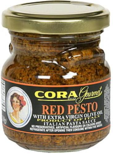 Cora Red Pesto Italian Pasta Sauce - 4.5 oz