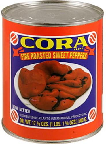 Cora Fire Roasted Sweet Peppers - 28 oz
