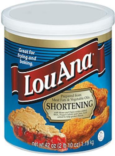 Lou Ana Shortening - 42 oz