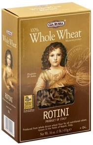 Gia Russa Rotini 100% Whole Wheat, 04