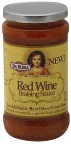 Gia Russa Braising Sauce Red Wine