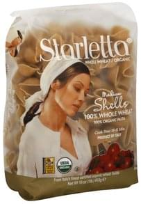 Starletta Medium Shells 100% Organic