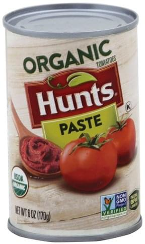 Hunts Organic Tomato Paste - 6 oz
