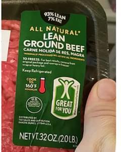 Walmart Lean Ground Beef