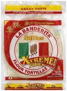 La Banderita Tortillas Soft Taco, Flour