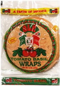 Ole Wraps Tomato Basil