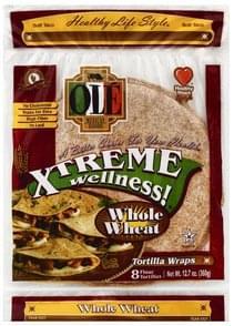 Ole Tortilla Wraps Flour, Soft Taco, Whole Wheat