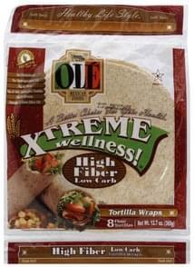 Ole Tortilla Wraps Soft Taco