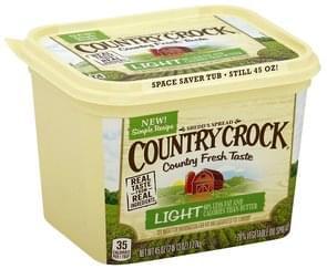 Country Crock Vegetable Oil Spread 28%, Light