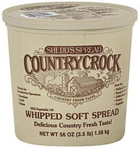 Shedds Vegetable Oil Spread 52%, Soft, Country Crock