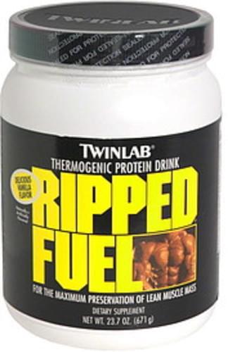 TwinLab Delicious Vanilla Thermogenic Protein Drink - 23.7 oz