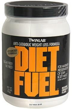 TwinLab Diet Fuel Anti-Catabolic Weight Loss Formula, Delicious Chocolate