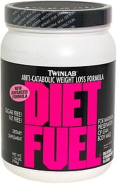 TwinLab Diet Fuel Anti-Catabolic Weight Loss Formula, Delicious Strawberry