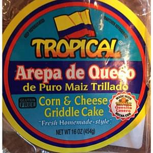 Tropical Corn & Cheese Griddle Cake