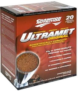 Champion Nutrition High-Protein Meal Supplement Chocolate