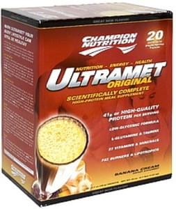 Champion Nutrition High-Protein Meal Supplement Banana Cream