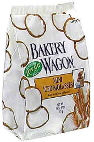 Bakery Wagon Mini Iced Molasses Cookies - 16 oz