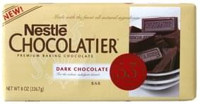 Nestle Chocolate Bar Premium Baking, Dark Chocolate, 53% Cacao