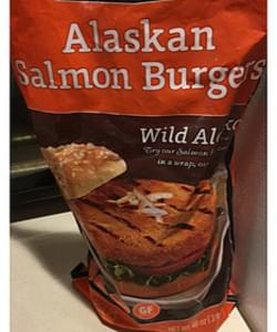 Trident Alaskan Salmon Burger