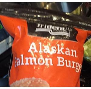Trident Seafoods Alaskan Salmon Burger