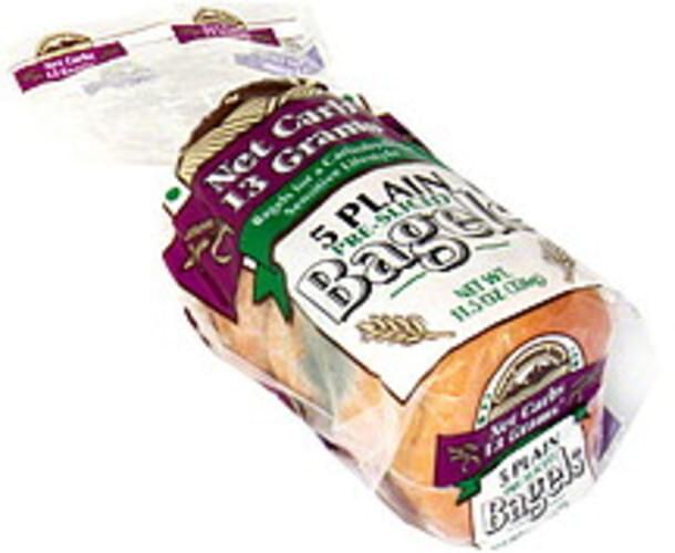Rocky Mountain Plain, Pre-Sliced Bagels - 5 ea