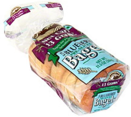Rocky Mountain Blueberry, Pre-Sliced Bagels - 5 ea