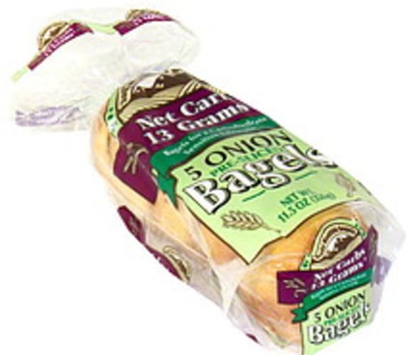 Rocky Mountain Onion, Pre-Sliced Bagels - 5 ea