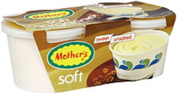 Mothers Soft Margarine Sweet, Unsalted