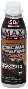Shamrock Farms Protein Milk Beverage Muscle Builder, Max, Chocolate