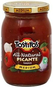 Tostitos Picante Sauce Medium