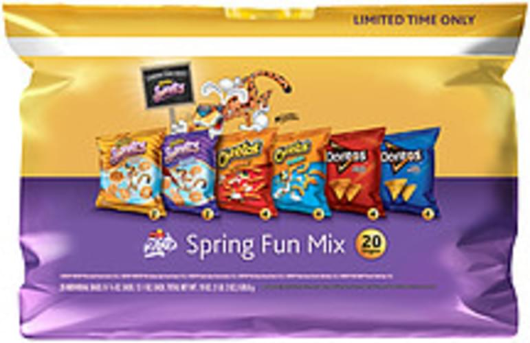 Frito Lay Spring Fun Mix Variety Snack Pack - 19 oz