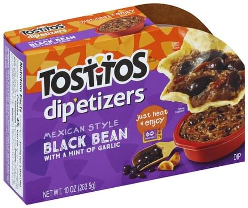 Tostitos Mexican Style, Black Bean with a Hint of Garlic Dip - 10 oz