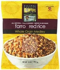Village Harvest Whole Grain Medley Farro & Red Rice